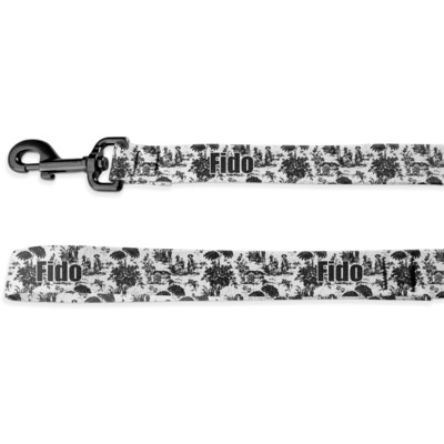 Toile Deluxe Dog Leash (Personalized)