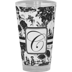 Toile Drinking / Pint Glass (Personalized)