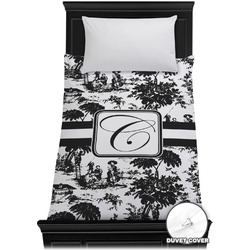 Toile Duvet Cover - Twin (Personalized)