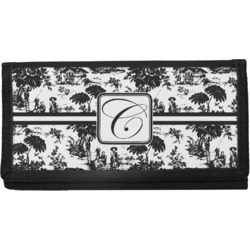 Toile Canvas Checkbook Cover (Personalized)