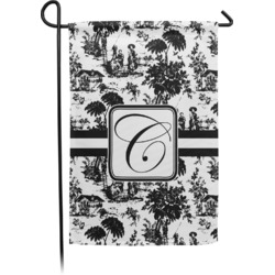 Toile Garden Flag - Single or Double Sided (Personalized)