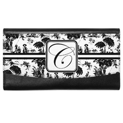 Toile Genuine Leather Ladies Wallet (Personalized)