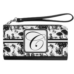 Toile Genuine Leather Smartphone Wrist Wallet (Personalized)