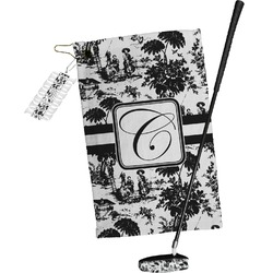 Toile Golf Towel Gift Set (Personalized)