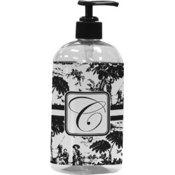 Toile Plastic Soap / Lotion Dispenser (Personalized)