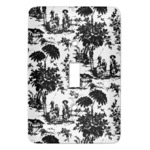 Toile Light Switch Cover (Single Toggle) (Personalized)
