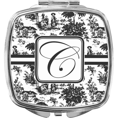 Toile Compact Makeup Mirror (Personalized)