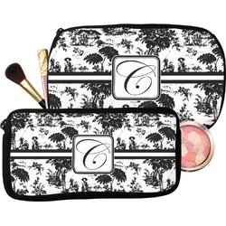 Toile Makeup / Cosmetic Bag (Personalized)