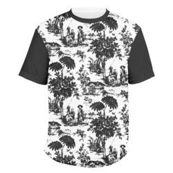 Vintage T-Shirt,Stripes and Circles Fashion Personality Customization