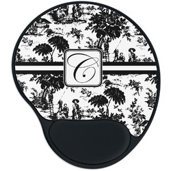 Toile Mouse Pad with Wrist Support