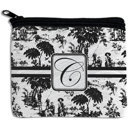 Toile Rectangular Coin Purse (Personalized)