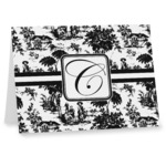 Toile Note cards (Personalized)