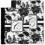 Toile Notebook Padfolio w/ Initial