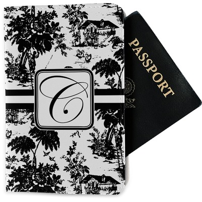 Toile Passport Holder - Fabric (Personalized)