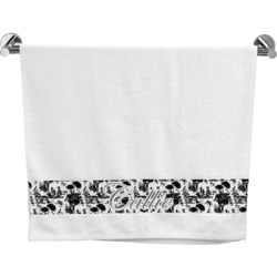 Toile Bath Towel (Personalized)