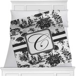 Toile Minky Blanket (Personalized)
