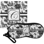 Toile Eyeglass Case & Cloth (Personalized)