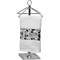 Toile Finger Tip Towel (Personalized)