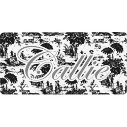 Toile Front License Plate (Personalized)