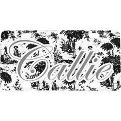 Toile Mini / Bicycle License Plate (Personalized)