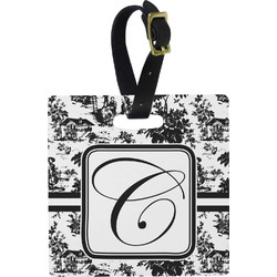 Toile Square Luggage Tag (Personalized)
