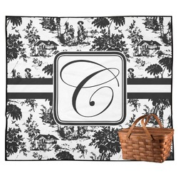 Toile Outdoor Picnic Blanket (Personalized)