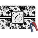 Toile Rectangular Fridge Magnet (Personalized)