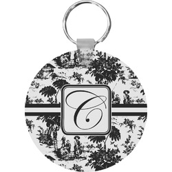 Toile Round Keychain (Personalized)