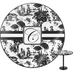 Toile Round Table (Personalized)