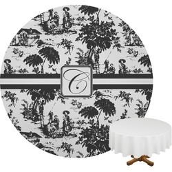 Toile Round Tablecloth (Personalized)