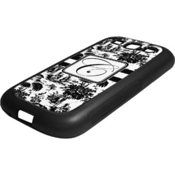 Toile Rubber Samsung Galaxy 3 Phone Case (Personalized)