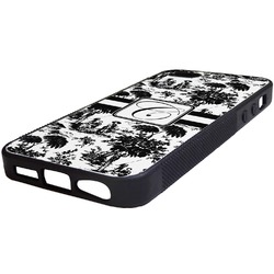 Toile Rubber iPhone 5/5S Phone Case (Personalized)
