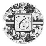 Toile Sandstone Car Coasters (Personalized)