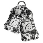 Toile Hand Sanitizer & Keychain Holder (Personalized)