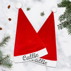Toile Santa Hat (Personalized)