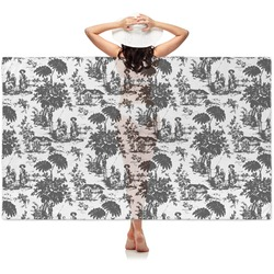 Toile Sheer Sarong (Personalized)