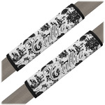 Toile Seat Belt Covers (Set of 2) (Personalized)