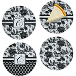 Toile Set of Appetizer / Dessert Plates (Personalized)