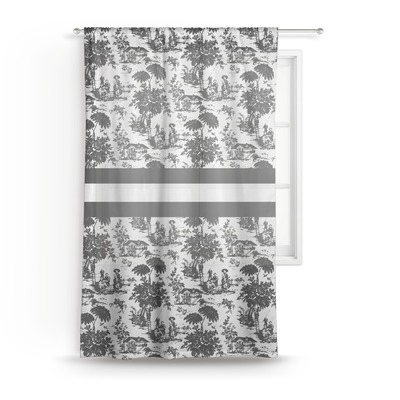 Toile Sheer Curtains (Personalized)