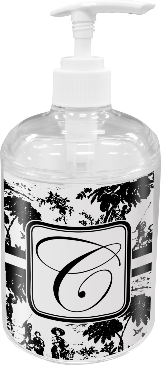 Toile Soap / Lotion Dispenser (Personalized) - YouCustomizeIt