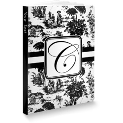 Toile Softbound Notebook (Personalized)