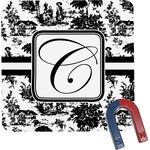 Toile Square Fridge Magnet (Personalized)