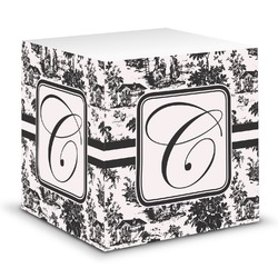 Toile Sticky Note Cube (Personalized)
