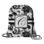 Toile Drawstring Backpack (Personalized)