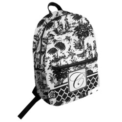 Toile Student Backpack (Personalized)