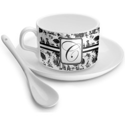 Toile Tea Cup - Single (Personalized)