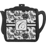 Toile Teapot Trivet (Personalized)