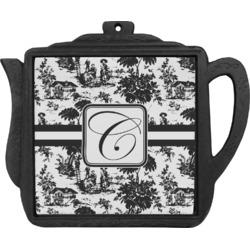 Toile Teapot Trivet (Personalized)