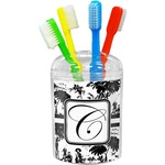 Toile Toothbrush Holder (Personalized)