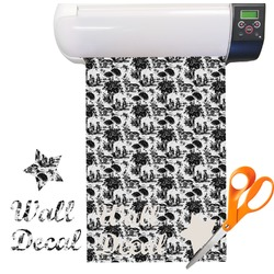 Toile Pattern Vinyl Sheet (Re-position-able)